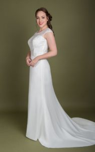 Millie Grace wedding dresses in Stratford's Boho Bride boutique