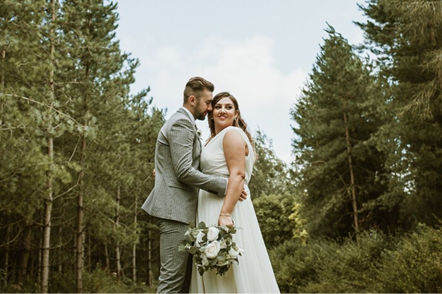 Boho Bride Aimee's Bespoke Wedding Dress and 2019's Most Sentimental Wedding