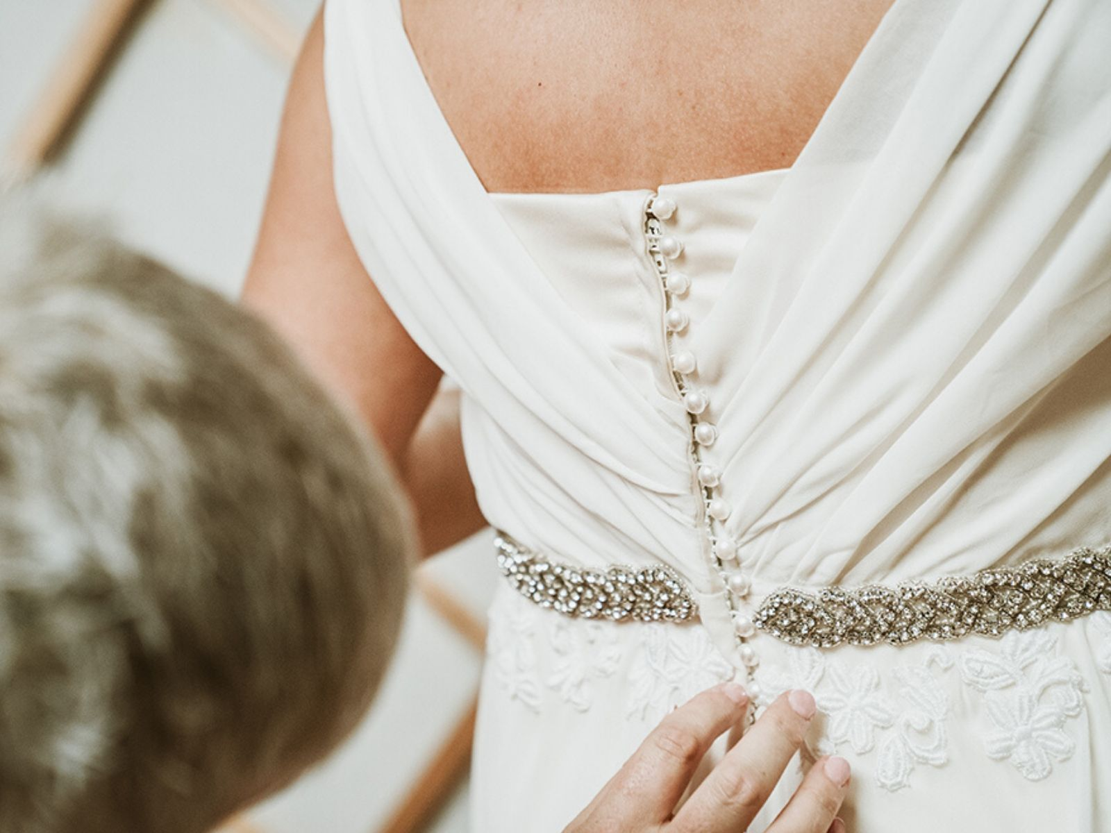 Bespoke wedding dress service at Boho Bride in Stratford Upon Avon