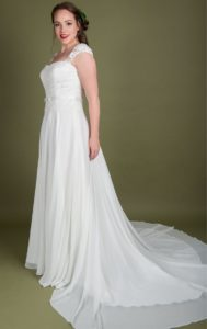 Designer plus size wedding dress Stratford Upon Avon
