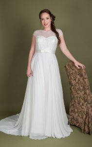 Plus size wedding dresses at Boho Bride boutique Stratford