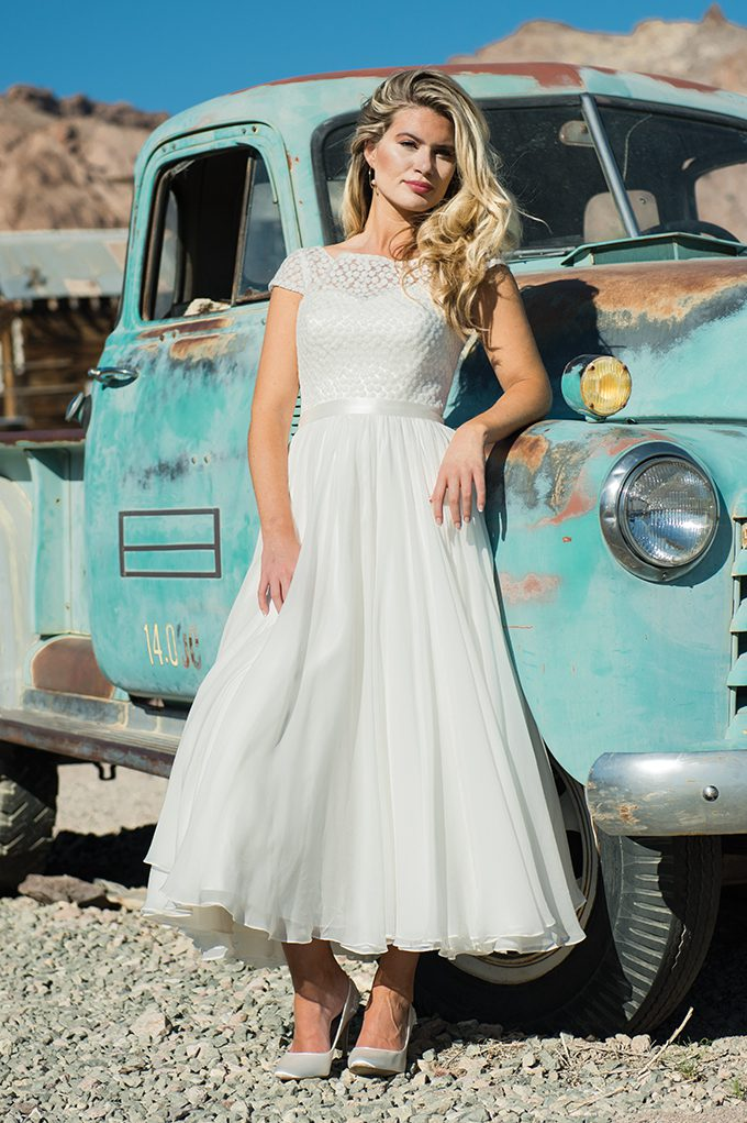 Summer wedding dress by Ivory and Co. at Boho Bride boutique
