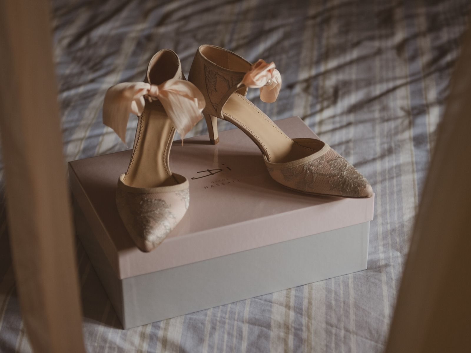 1 / 1 – Wedding shoes by Di Hassall in Stratford Upon Avon