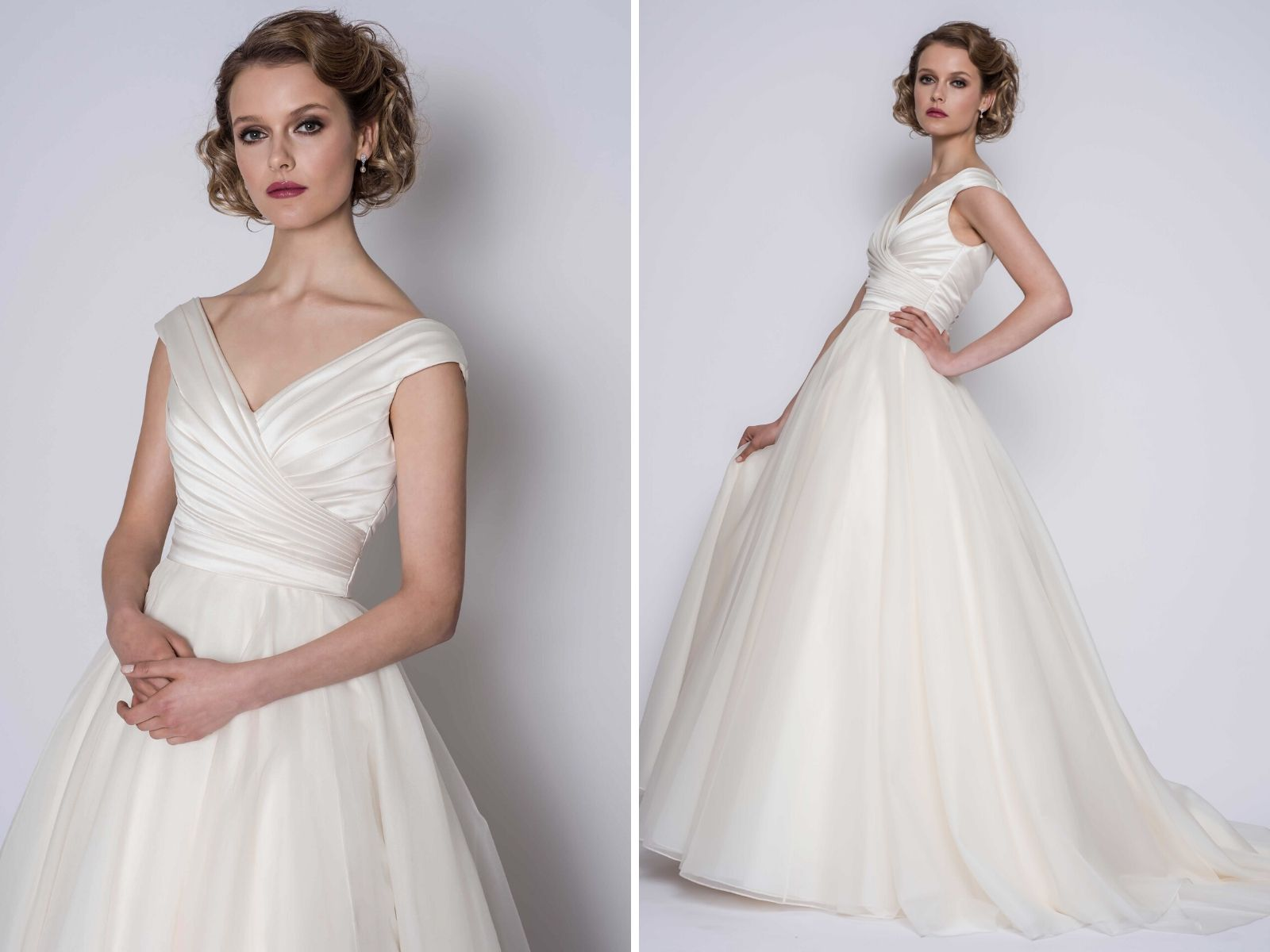 Statement wedding dress by Loulou Bridal
