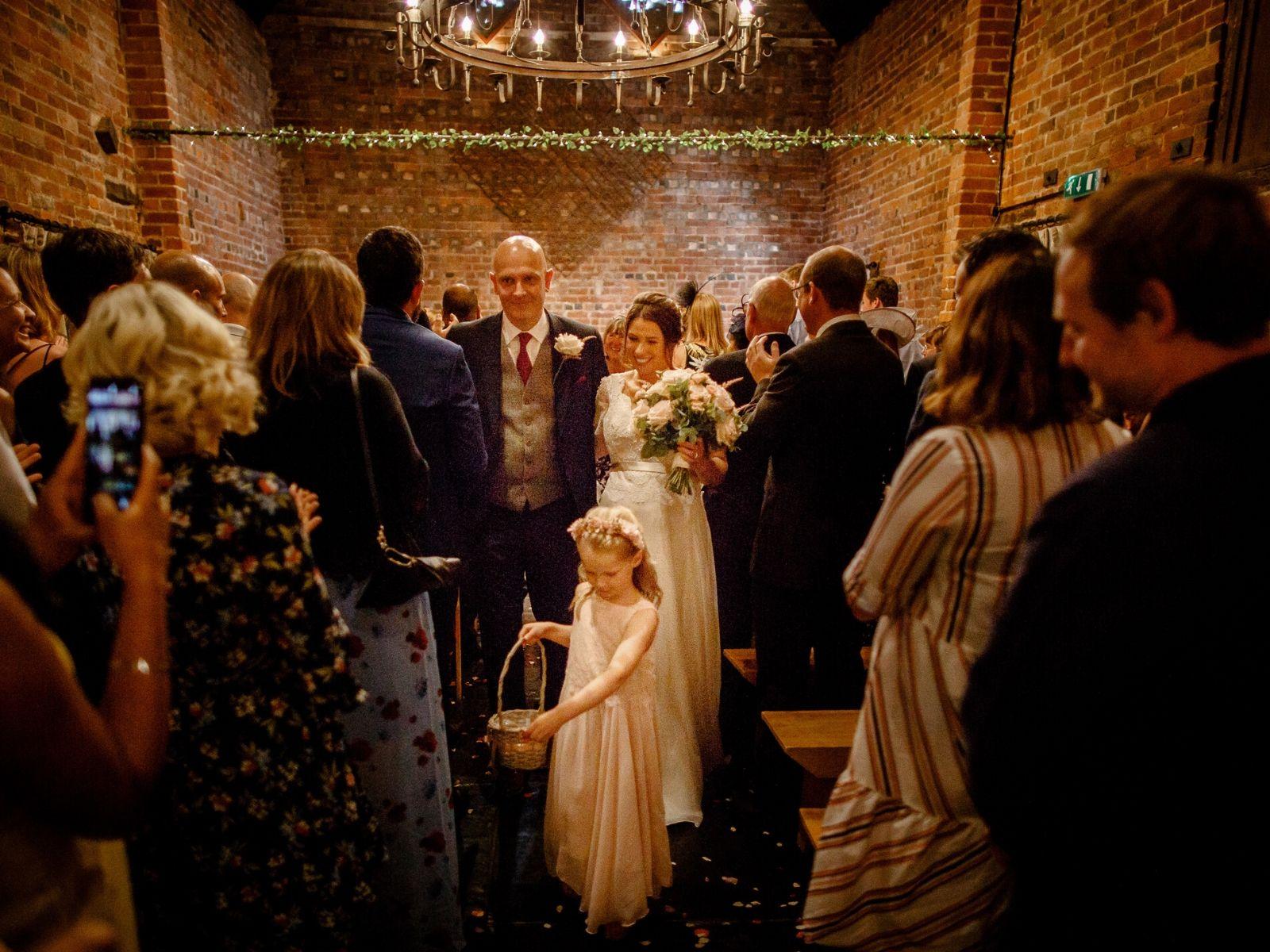 Barn wedding venue Curradine Barn Shrawley