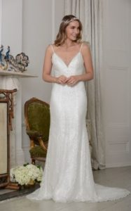 Beaded wedding dress stratford-upon-avon bridal shop