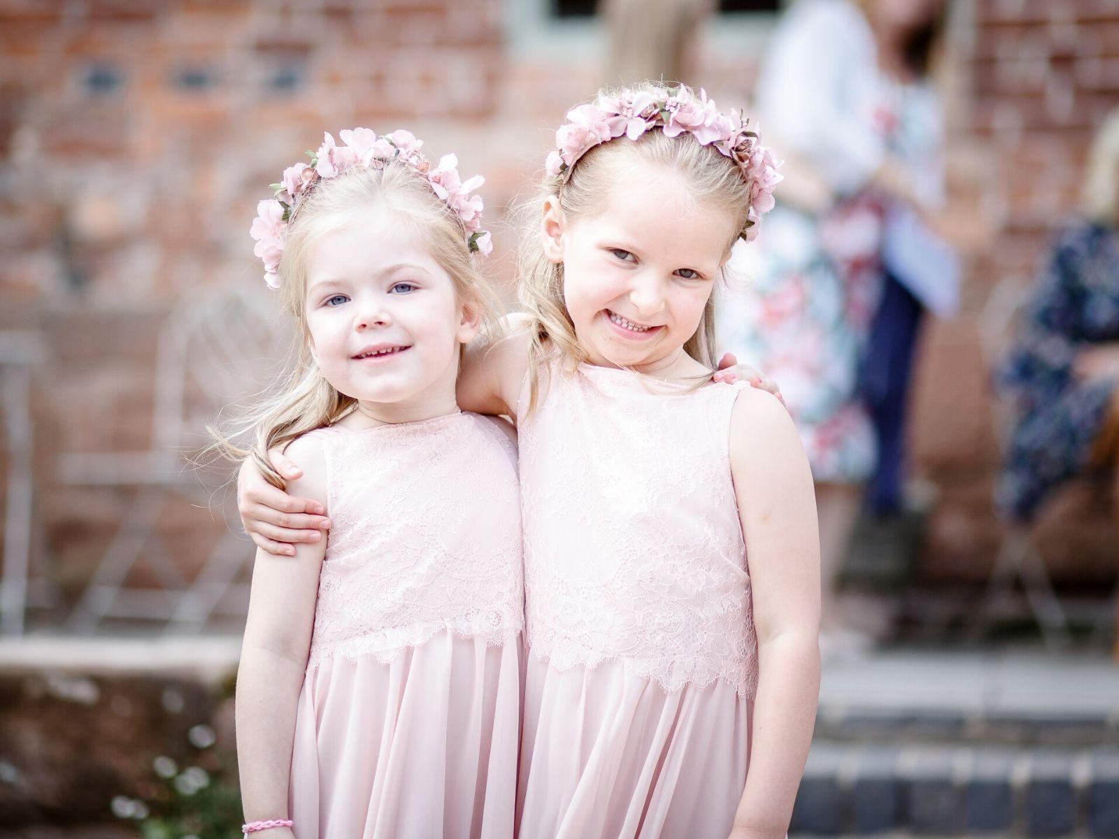 Bespoke flower girl dresses from Boho Bride Boutique