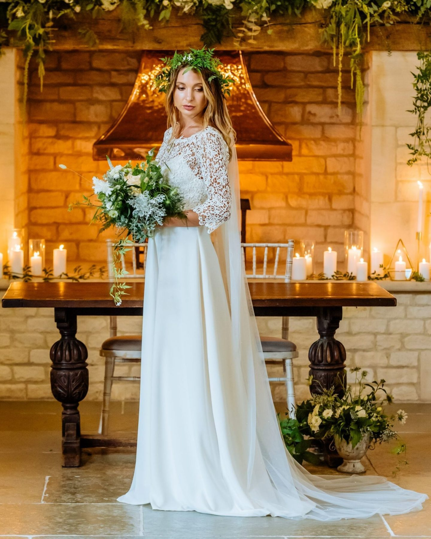 Boho wedding dress by Boho Bride Freedom Collection