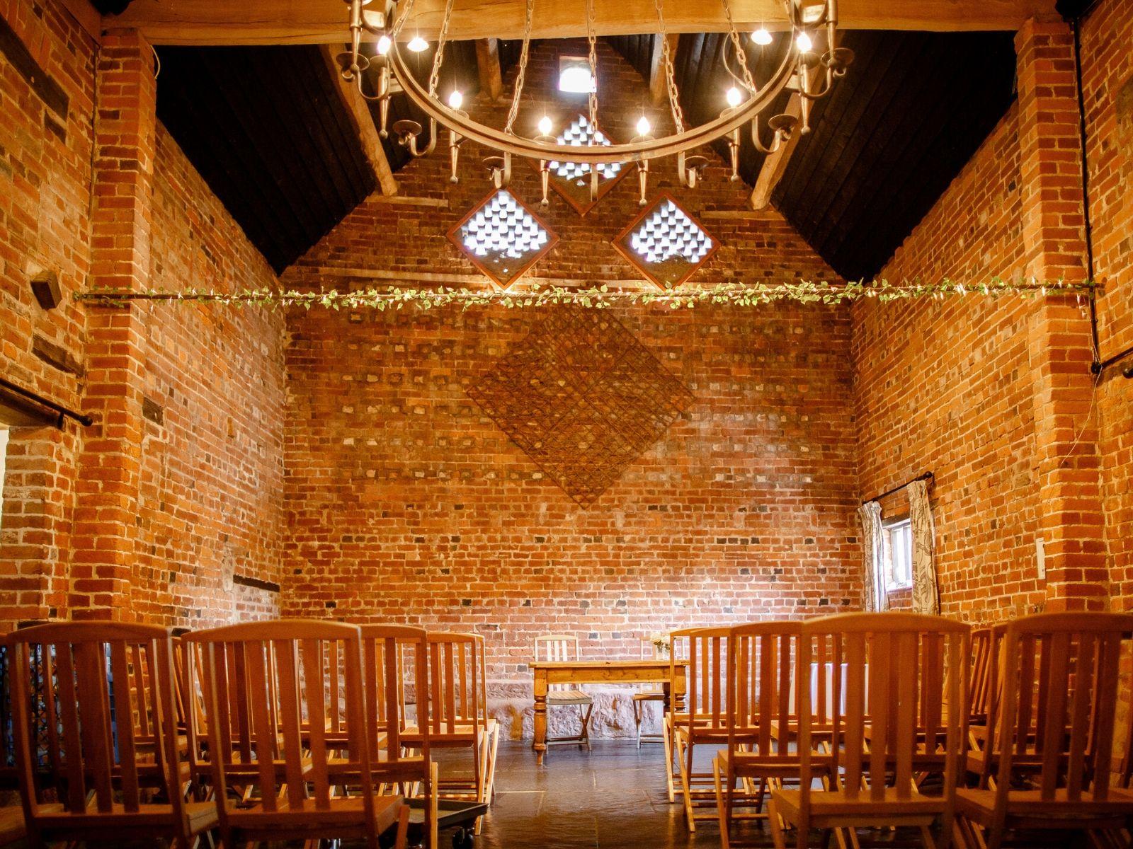 Curradine Barns Shrawley wedding venue