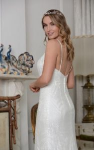 Embellished wedding dress stratford-upon-avon bridal shop