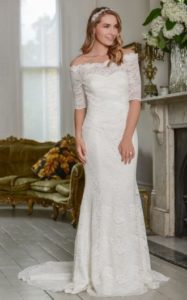 Lace wedding dresses by Millie May Bridal stratford