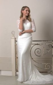 Millie May wedding dress sleeves stratford-upon-avon wedding dress shop