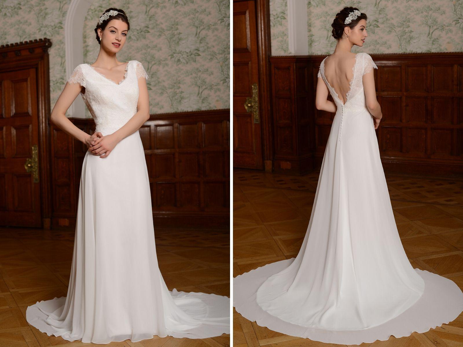 Mylene by Millie May boho wedding dress for the statement bride