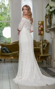 Sleeved Millie May wedding dresses stratford-upon-avon wedding dress shop