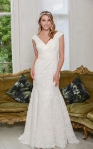Sophisticated Millie May wedding dress stratford-upon-avon bridal shop