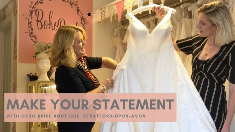 VIDEO: Statement Wedding Dresses for the Unique Bride