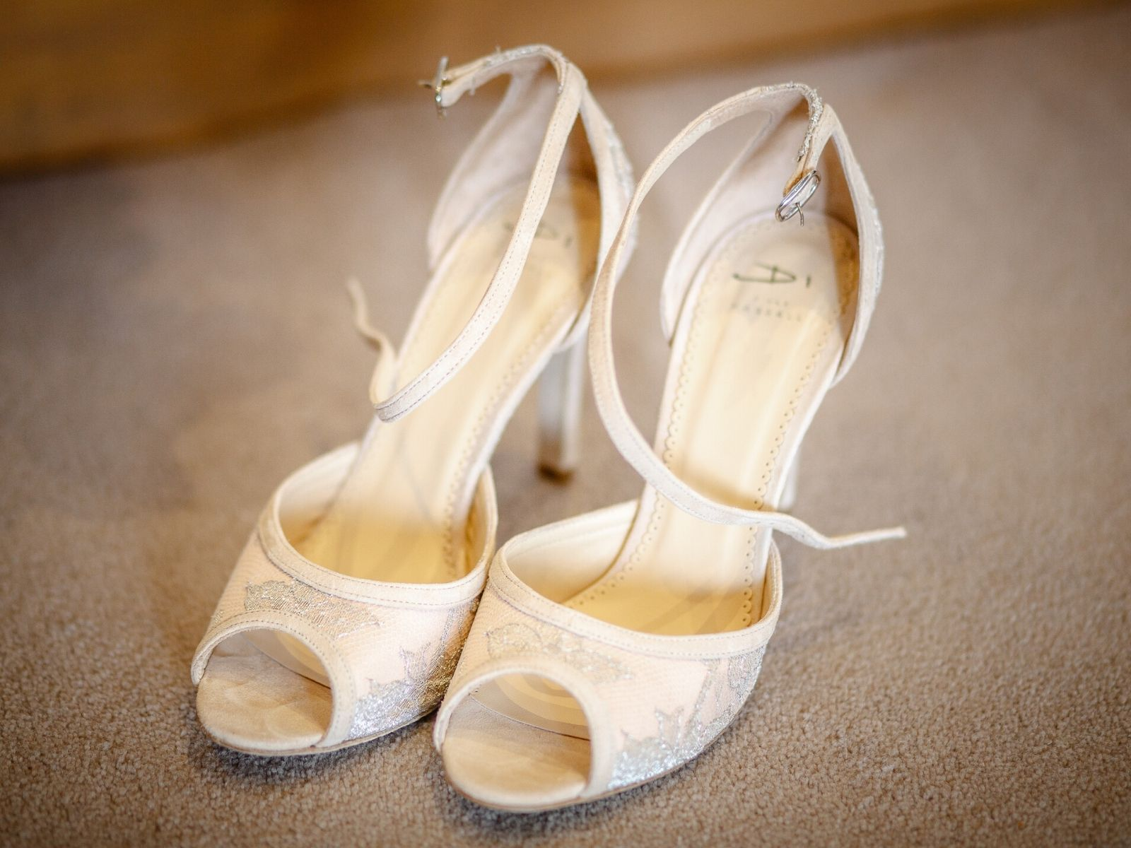 Wedding shoes Di Hassall from Boho Bride Boutique
