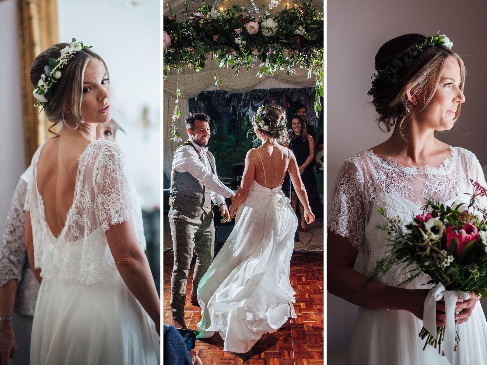 Bohemian wedding dresses at Boho Bride Boutique in Stratford Upon Avon