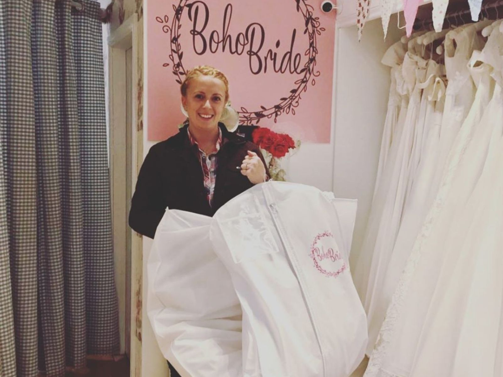 Wedding dress shopping at wedding dress shop stratford
