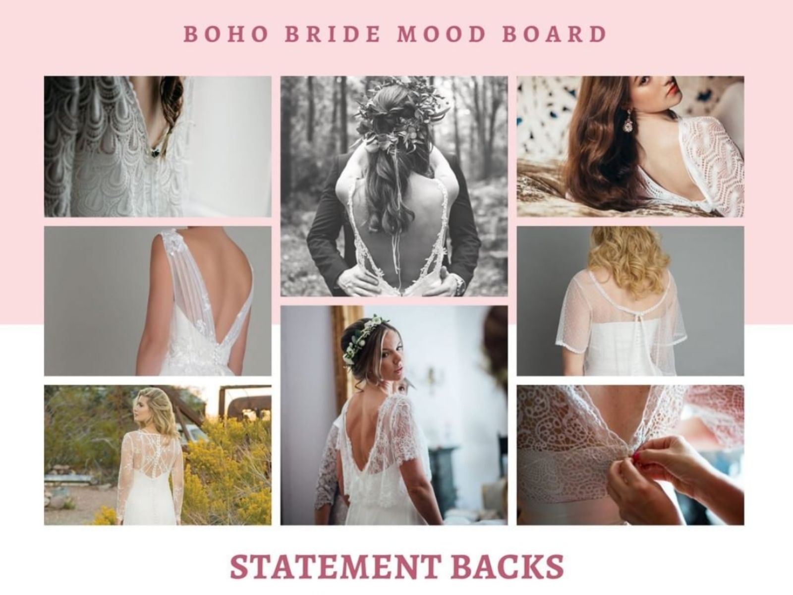 Wedding mood board Stratford