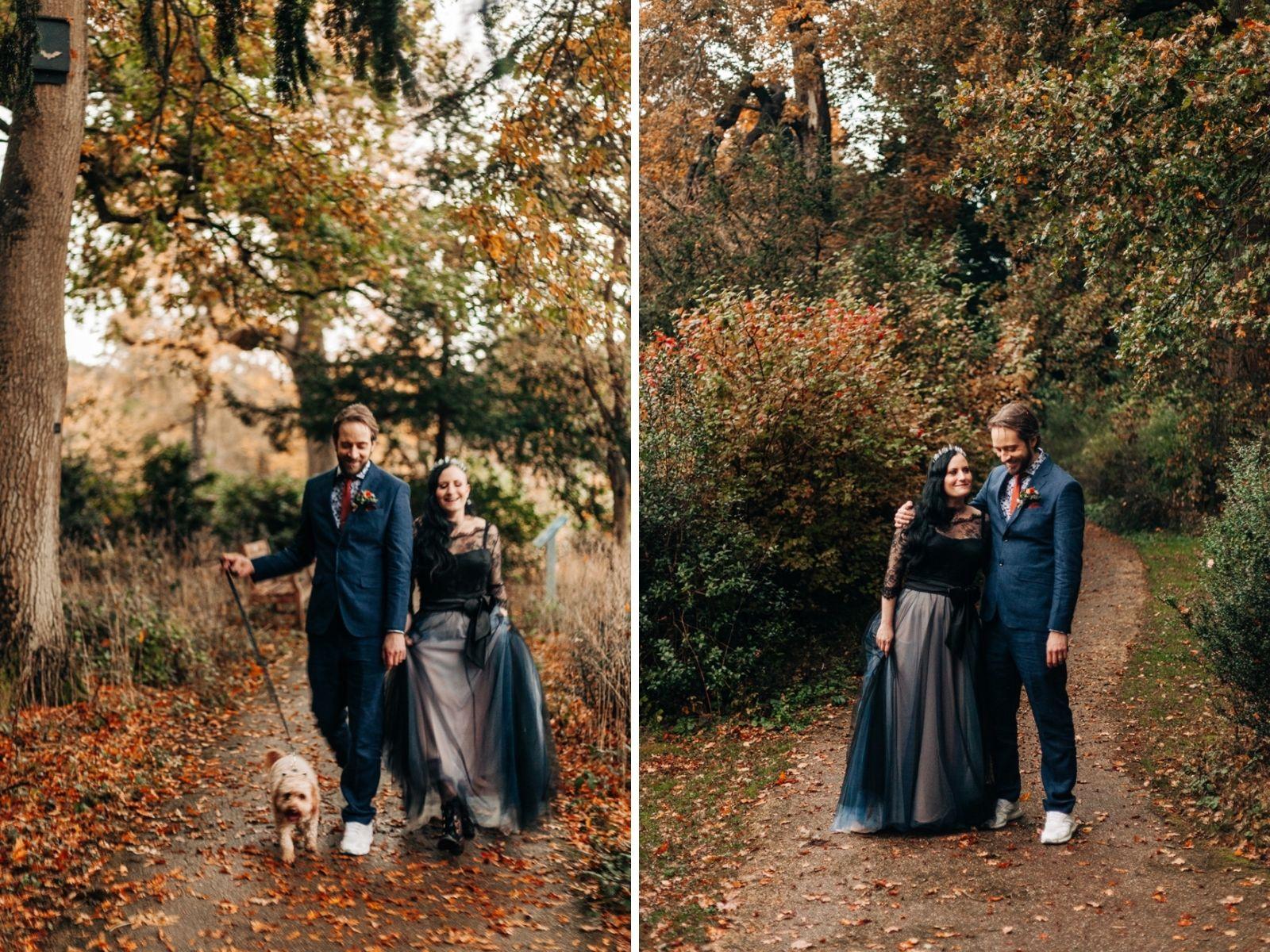 autumn wedding day