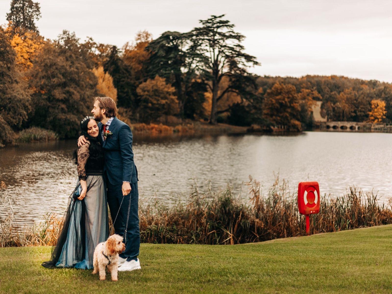 Outdoor wedding venue Compton Verney