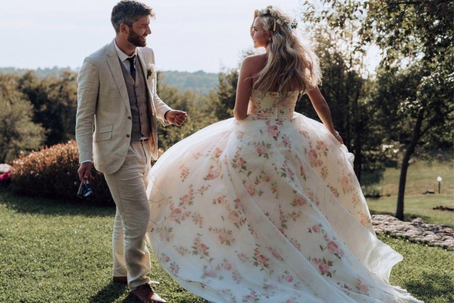 Natalie and Rob's Intimate Italian Wedding