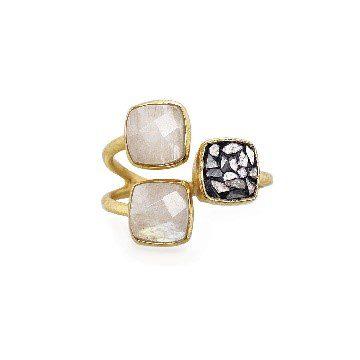 Alter Ego Triple Gemstone Ring
