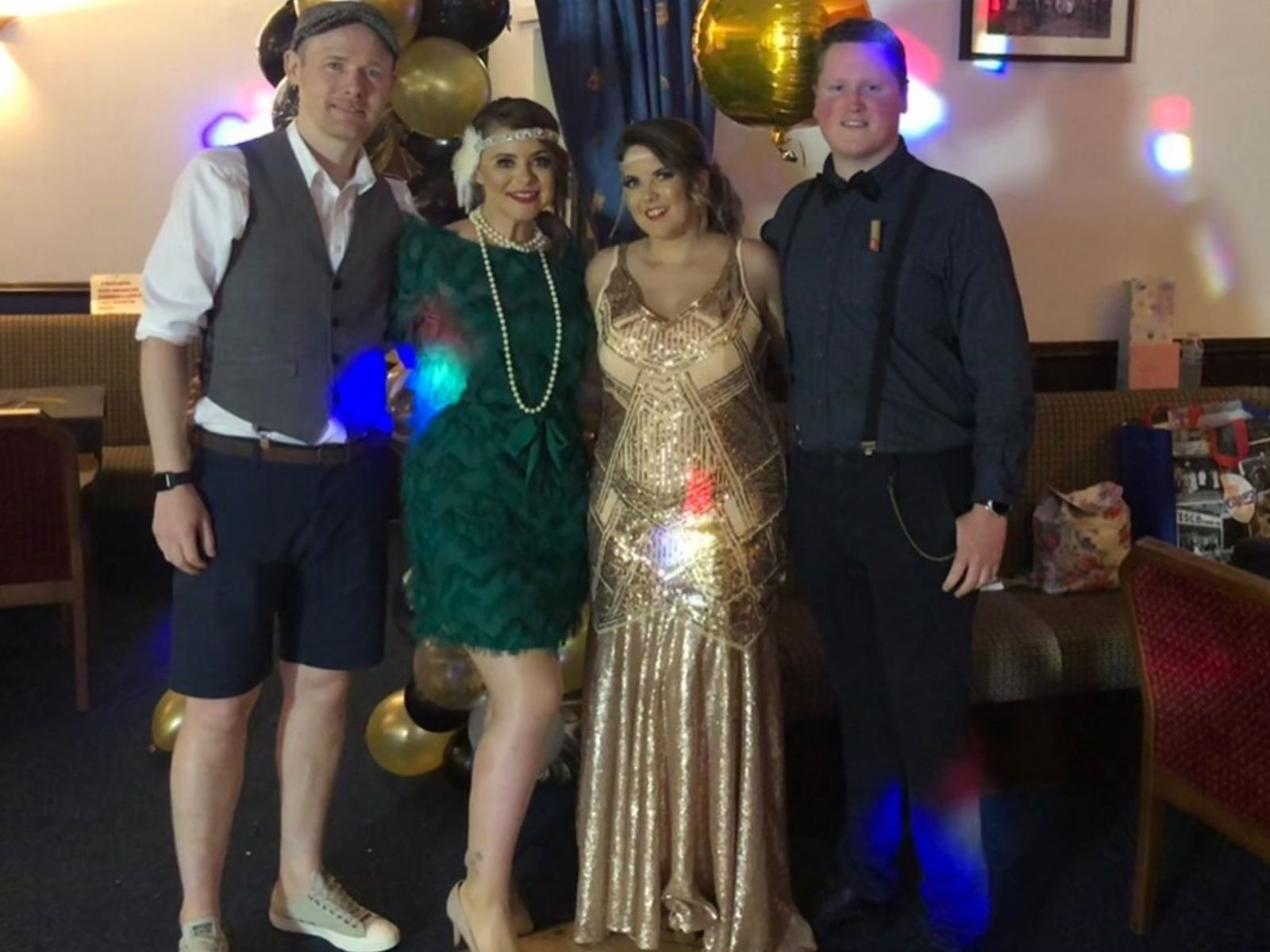 Bespoke birthday gown