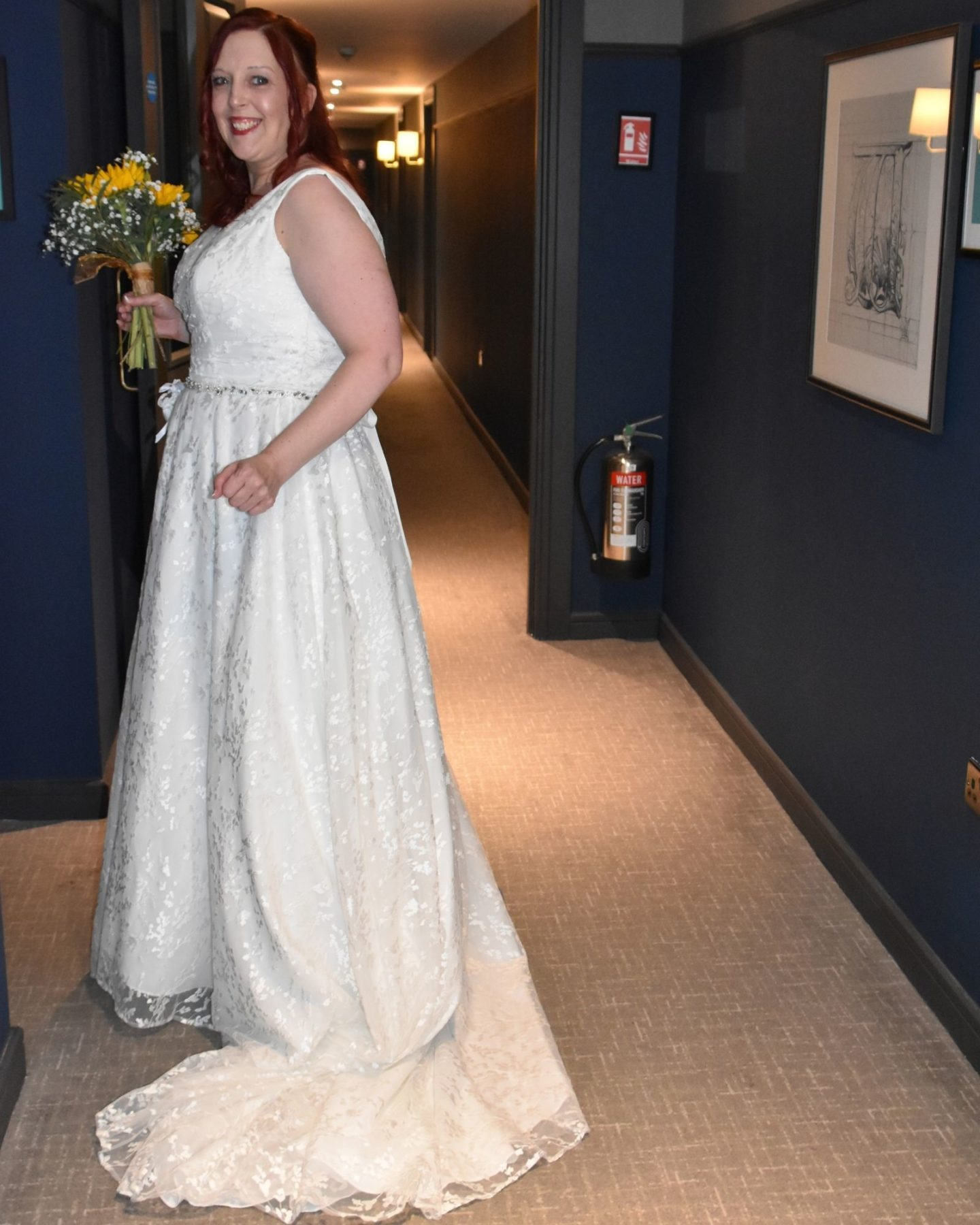 Alternative wedding dress for Boho Bride Estelle