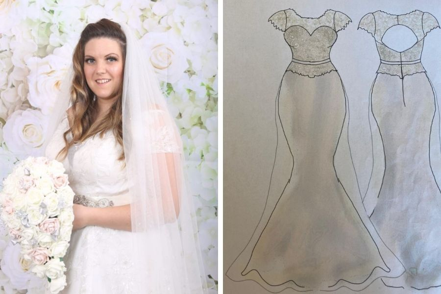 Boho Bride Claire: Two Dresses for Two Days!