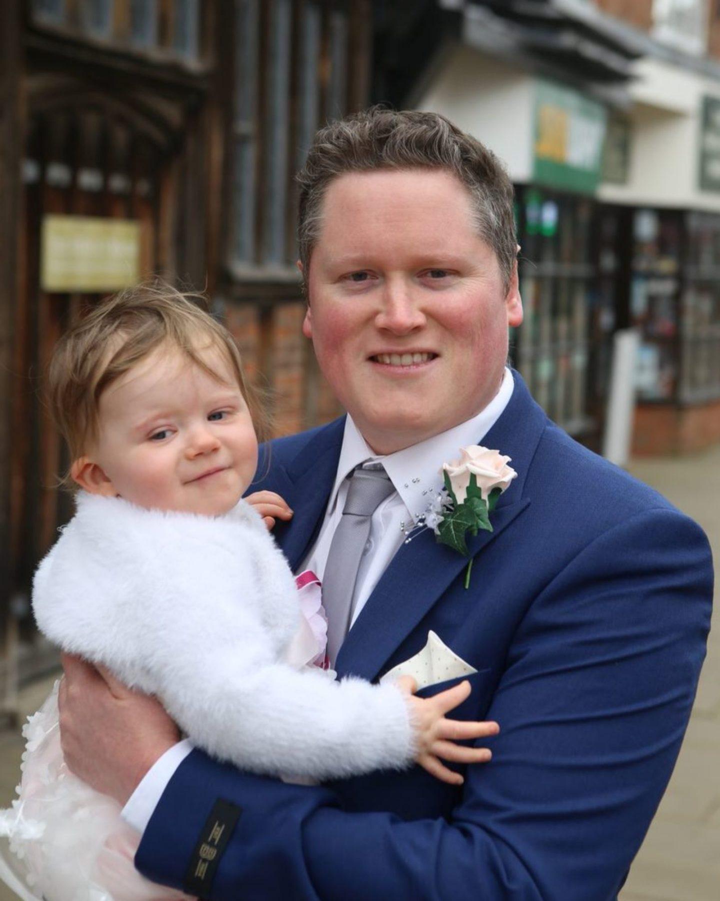 Covid pandemic wedding in UK