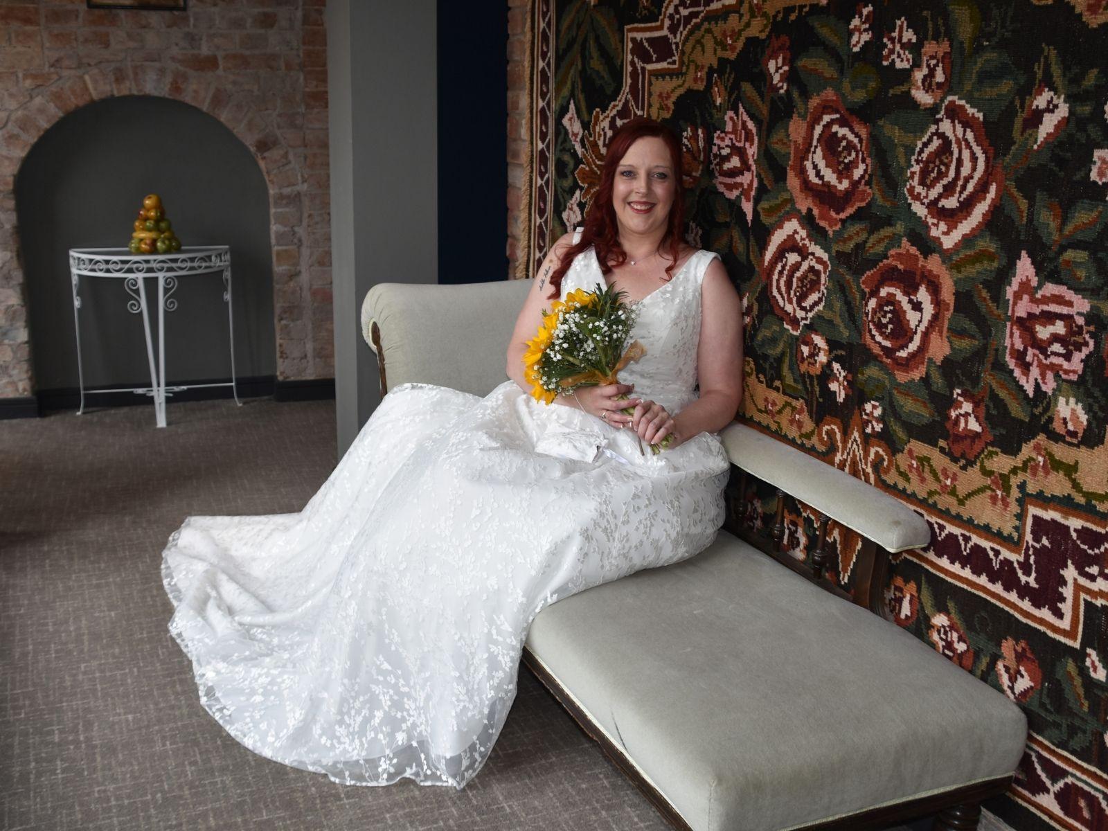Millie May wedding dress Stratford-Upon-Avon